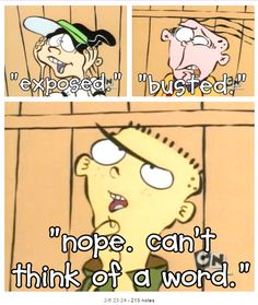 Can´t think of a word #ed edd n eddy