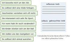 Resultado de imagen para gebrauch verben deutsch