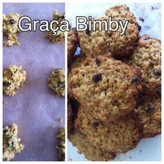 Bimby Truques & Dicas: Bolachas de aveia com pepitas de chocolate