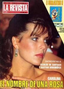 Princess Caroline of Monaco.1984.