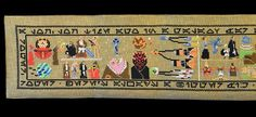 """He says it's """"very much a homage"""" to the Bayeux Tapestry, although the Norman original is still around 60 metres longer"""