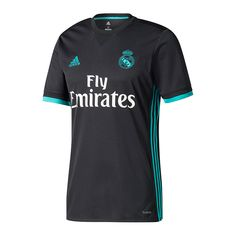 Real Madrid Stadium Away Men Soccer Jersey Personalized Name and Number Brand: Adidas Gender: Men's Adult Model Year: Material: Polyester Type of Brand Logo: Embroidered Type of Team Badge: Embroidered Real Madrid Third Kit, Equipacion Real Madrid, Adidas Real Madrid, Ramos Real Madrid, Real Madrid Soccer, Football Chelsea, But Football, Best Football Team, Football Kits