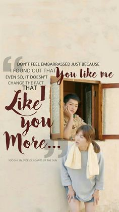 Descendants of the sun, Song couple