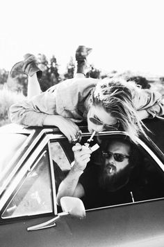 ron didn't give millie time to get off the hood before he shot the gas....she fell off broke her sunnies....i'm going to buy her a lighter.....