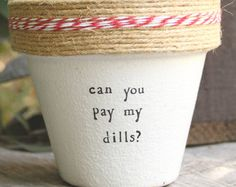 "Notorious BIG Juicy 4"" and 6"" pots available for your oregano herb! Pot does not include plant. These hand painted and stamped pots are perfect for your indoor herb garden! All pots made by Plant Puns are sealed with an earth safe finish for safe growing and consumption of edible herbs. Pots contain a drainage hole. Is this a gift?! Send us a message and we'll be sure to include a special note from YOU free of charge! If you're looking for a set of herbs be sure to check out our specials for…"
