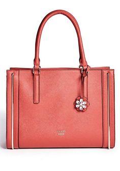 c7c4996311b2 GUESS GIRL Redford Logo Large Tote Bag Purse Handbag