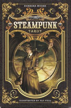 "The ""Steampunk Tarot"" is a traditional 78 card deck that is steeped in the very…"