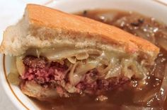 6. The French Onion Soup Burger from 50 Best Burger Recipes Slideshow