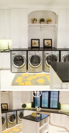 Laundry is Fun! 100 great laundry room ideas