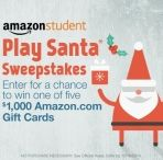 Enter to win a $1000 Amazon Gift Card