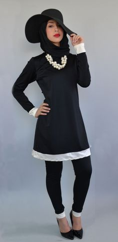 The Hepburn Burkini Swimsuit by Beaute Cache www.beautecache.com