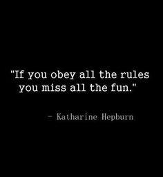 obey rules fun