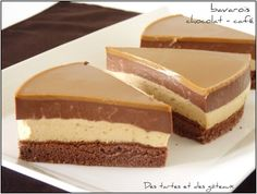 Bavarois chocolat café 2