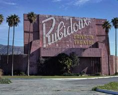 Rubidoux Drive-In Movie Theater California Color Photo Print Belleville Illinois, Drive In Movie Theater, Theatres, Abandoned Buildings, California, Island, Poster Prints, Movies, Ebay