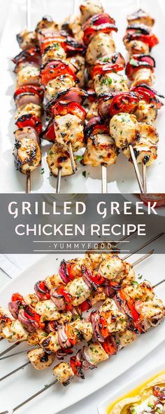 Grilled Greek Poultry Recipe - Marine And Land Vehicles Greek Recipes, Keto Recipes, Cooking Recipes, Healthy Recipes, Dinner Recipes, Entree Recipes, Chicken Items, Turkey Dishes, Grilling Recipes