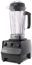 Vitamix blender... only way to make green smoothies truly smooth and keep the fiber value in your drink without juicing.