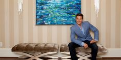 @CharlesNealInteriors' designs are posh, glamorous and luxurious. His glam, transitional and modern work spans from Miami to Los Angeles. He has design experience in television shows as well as working with top-of-the-line products and materials. #interiordesigner