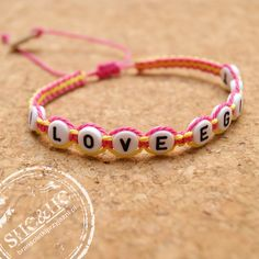 hand made friendship bracelets, frindship, personalized , name braclets , macrame