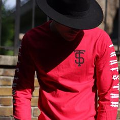 Trapstar London Red Arm Detail Dope UK Clothing Line Swag Dope Urban Fashion Streetwear