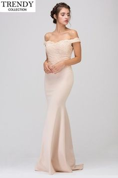 f139d2759ce Fashion Eureka 7100 Bridesmaid Long Dress. Off Shoulder GownMermaid  SilhouetteCheap Bridesmaid DressesLace BodiceLace Evening ...