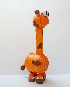 *3D Quilling: Giraffe