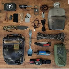 With the popularity of camping, hiking, and trailing at an all-time high, there comes a great demand to known even the most basic of survival skills before heading out on your next outdoor trip. Bushcraft Gear, Bushcraft Camping, Camping Survival, Outdoor Survival, Survival Prepping, Survival Skills, Camping Gear, Camping Hacks, Outdoor Gear