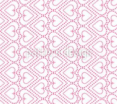 Dotted Heart Rows Vector Design by Sonja Glisovic at patterndesigns.com Vector Pattern, Pattern Design, Vector Design, Surface Design, The Row, Your Design, Dots, Valentines, Patterns