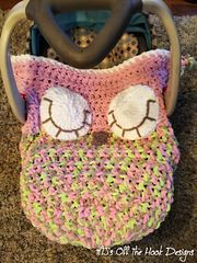 This is a PDF crochet pattern for a sleeping owl car seat cozy! This cozy is…