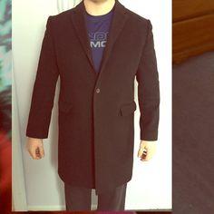 Express sport coat Black brand new express sport coat worn twice. XL but too small for my husband Express Jackets & Coats Blazers