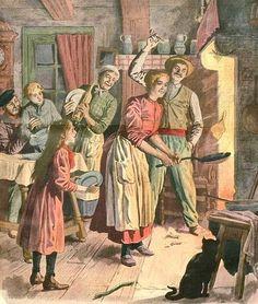 Coutumes et traditions. Chandeleur, fête ancestrale. Crêpes, rituel, folklore | PASSION FLE | Scoop.it