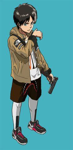 Shingeki no Kyojin Eren x TNF