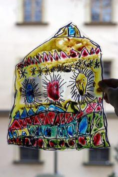 Gotická okna. Celofán, tuš, laminátor. Backpacks, Bags, Handbags, Backpack, Backpacker, Bag, Backpacking, Totes, Hand Bags