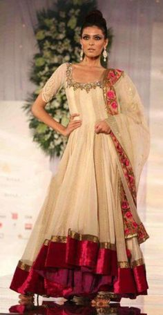 Indian anarkali fashion