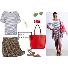 Running errands by pinksole, via Polyvore