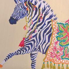 @pgemmel love! #zebra #print #art