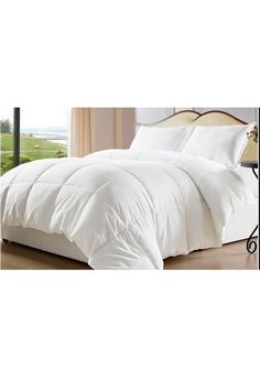 White Down Alternative Comforter Home Goods Galore Oversized King