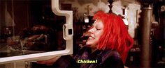 """It's OK to eat the entire contents of your fridge.   16 Life Lessons From """"The Fifth Element"""""""