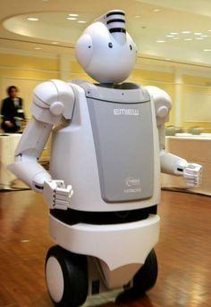 (6) Inoreader - EMIEW3, la dernière version du robot d'accueil d'Hitachi