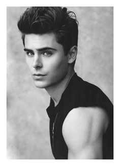 Zac Efron. I know he's so pretty and probably knows it but I just have to agree. #guiltypleasure