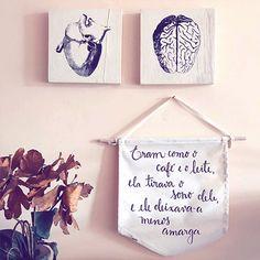 """Segunda delícia com um #repost do cantinho da @beatrizamaro Nossa flâmula """"Eram como o café e o leite"""" está disponível na nossa loja online, link na bio. Confere lá #ameeproject #oamortransforma #ecommerce #lojaonline #flamula #café #amor #varejo #frasesespeciais #significado"""