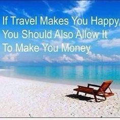 Want to travel get rewarded and make money?   Who wouldn't...contact me to learn how.