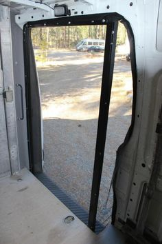 Screen doors screens and open roads on pinterest for Retractable insect screen door