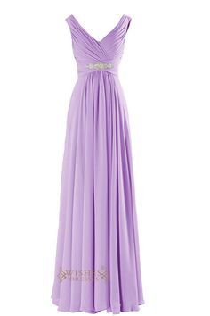 Chiffon gown that has a v neckline with ruched straps and open back.delicated beaded embellishment at the front of waist. Neckline:V-neck Length:Floor length Details:Ruched,Beads Fabric:Elastic Satin,