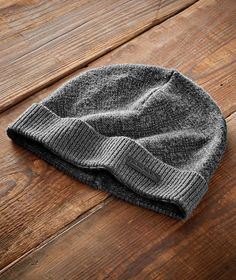 Men s Snowcapped Beanie - This topper sports a Nordic-inspired diamond knit  motif along the d4d6f33e6e44