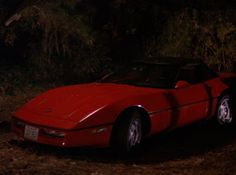 1990 Chevrolet Corvette in Twin Peaks (Leo Johnson's car)