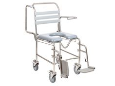 Commodes are for users with limited mobility who are unable to make to a toilet independently.