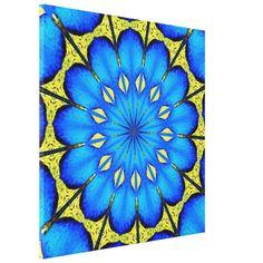 #Peacocks #Feathers #Kaleidoscope 4 Gallery Wrap Canvas...#art  #artwork  #prints  #posters  #RoseSantuciSofranko #Artists4God  #Artist4God  #InteriorDecoration  #InteriorDecorating  #home #InteriorDesign  #Zazzle  #homedecor   #wrappedcanvas  #custom  #customizable #abstacts #birds #animals #mandalas #blues #golds