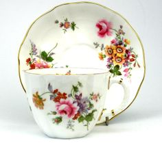Something New Something Old - Royal Crown Derby Derby Posies Tea Cup and Saucer, £8.99 (http://www.somethingnewsomethingold.co.uk/royal-crown-derby-derby-posies-tea-cup-and-saucer/)