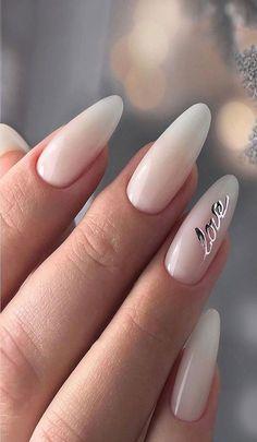 Taupe Nails, Blush Nails, Classy Almond Nails, French Gel, Acrylic Toe Nails, Milky Nails, Diamond Nail Art, Bridesmaids Nails, Magic Nails