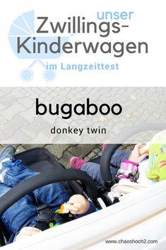 Der Zwillingskinderwagen bugaboo donkey twin im Langzeittest mit drei Kindern.#zwillinge#kinderwagen#erfahrungsbericht Bugaboo Donkey, Toddler Bed, Twins, Life, Post, To Go, Essentials, Internet, Blog